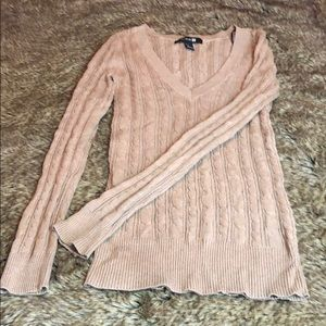 Cable Knit Sweater Like New